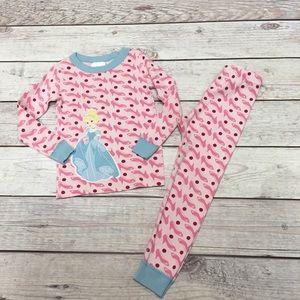 Hanna Andersson Disney Cinderella Pajama Set PJ's